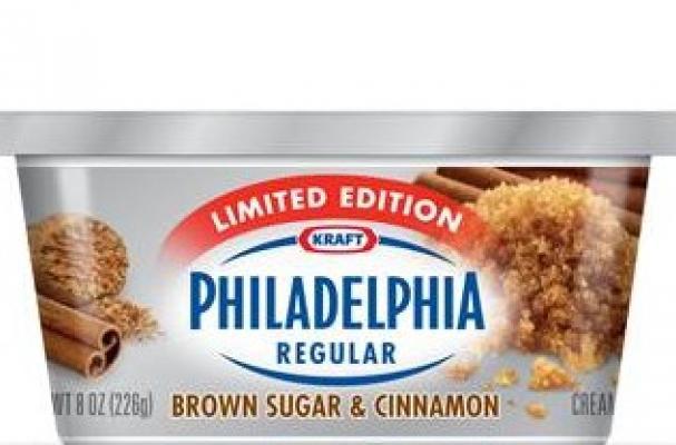 ... Philadelphia Releases Brown Sugar and Cinnamon Cream Cheese for Fall