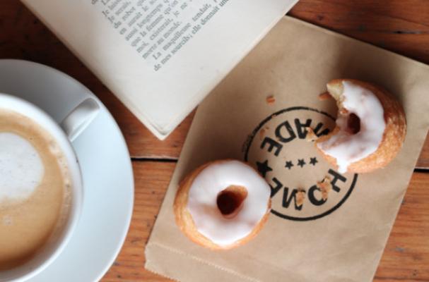 Cronuts With Vanilla Cream and Orange Blossom Glaze