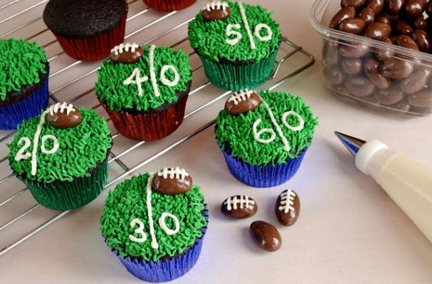Football Themed Cake Toppers