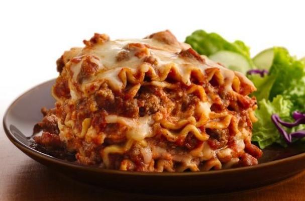 Easy Lasagna Recipe Food Com