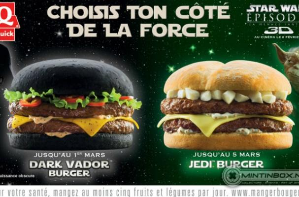European Fast Food Chain to Offer Darth Vader Burger