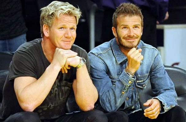 David Beckham to Open Restaurant with Gordon Ramsay