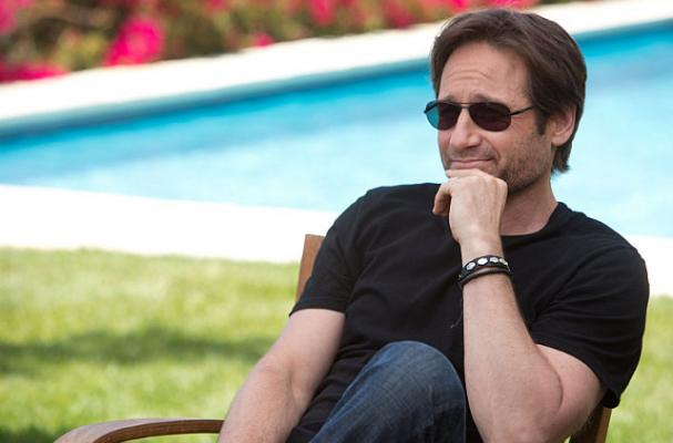 David Duchovny Spreads Love for NYC Vegan Restaurant