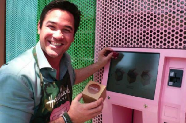 Dean Cain Promotes New Movie by Making a Withdrawal From the Cupcake ATM