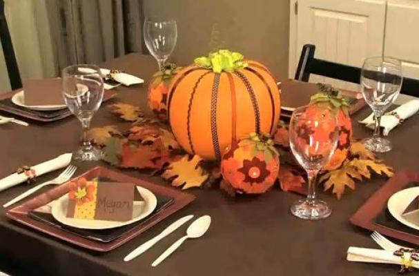 Thanksgiving for Kids ~ 20 Table Ideas