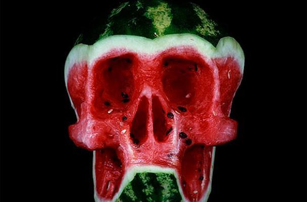 Edible Carved Skulls