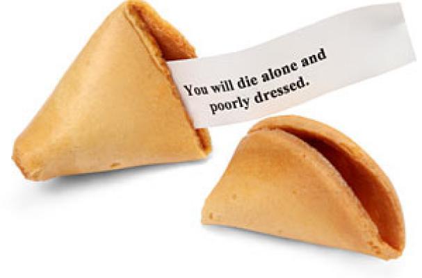 Cookie Misfortune Evil Fortune Cookies
