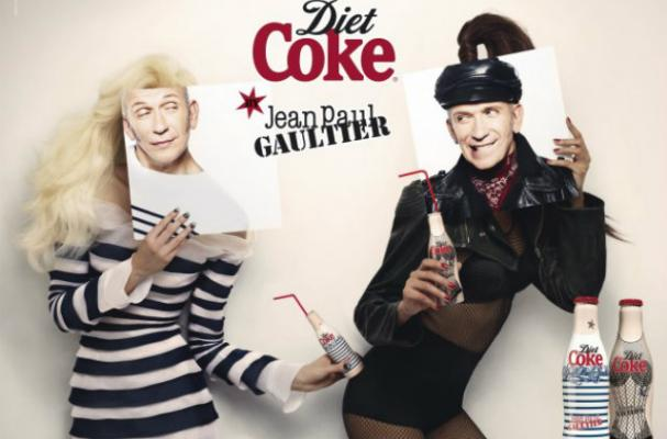 Jean Paul Gaultier Designs Madonna-Inspired Diet Coke Bottles