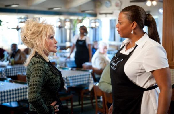 Queen Latifah and Dolly Parton Have a Joyful Food Fight