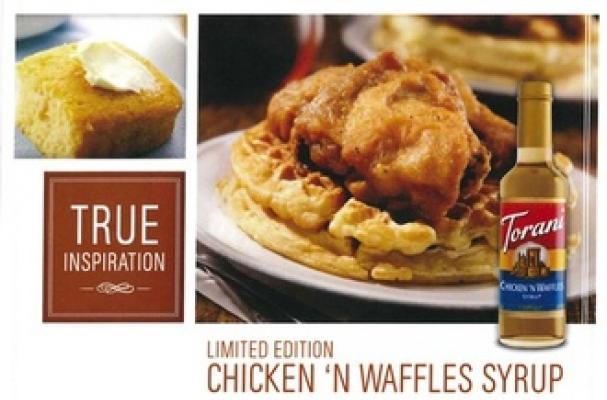 Torani Chicken 'n Waffles Syrup