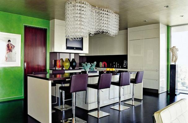 Celebrity Kitchens: Elton John and David Furnish