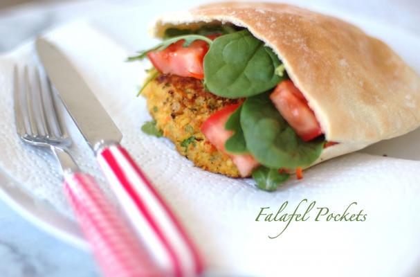 vegetarian recipes falafel burgers