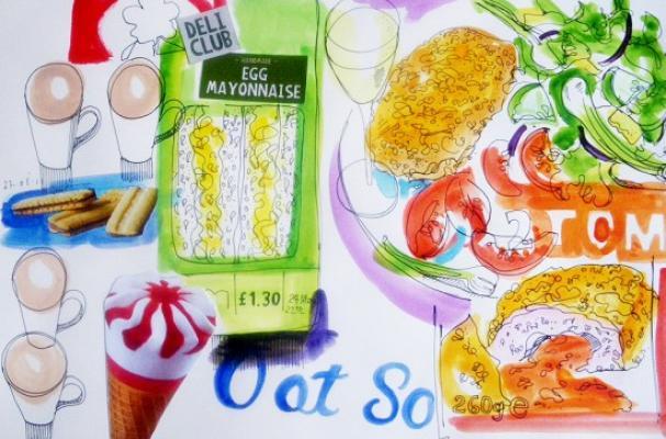 Food Illustrator Project by David Meldrum