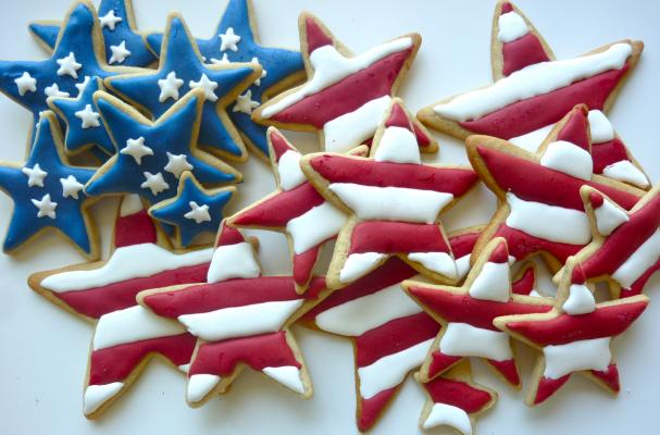 Apple pie Spice Sugar Cookies to Celebrate the Fourth of July