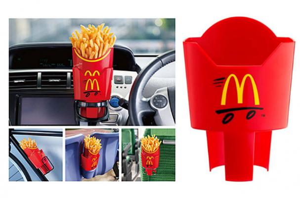 McDonald's Japan Releases French Fry Holders