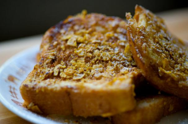 Low-Cal Breakfast: Cornflake Crunch French Toast