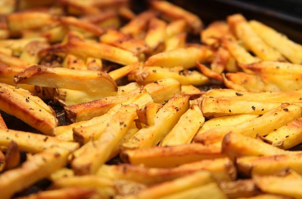 oven roasted fries
