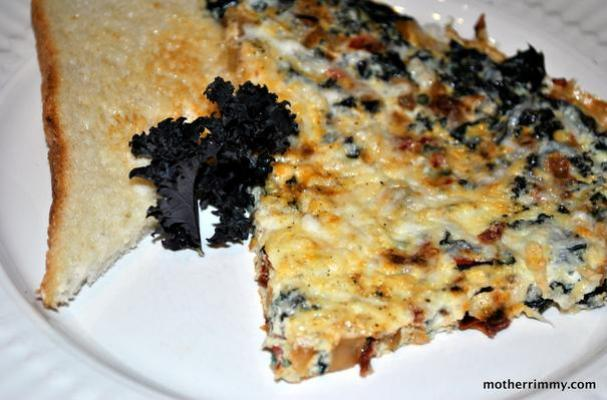 ... Easter Brunch Recipe: Sun Dried Tomato, Red Pepper and Kale Frittata