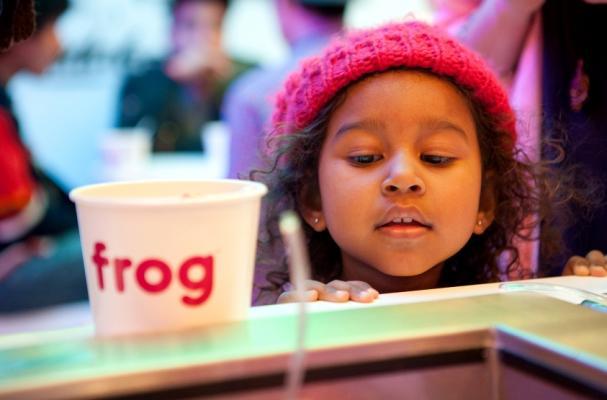 Frog Frozen Yogurt