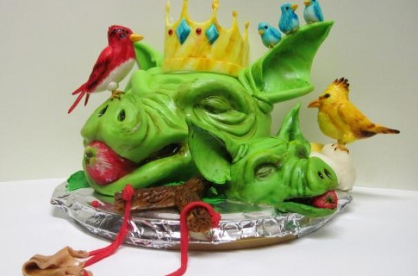 furious fowl cake