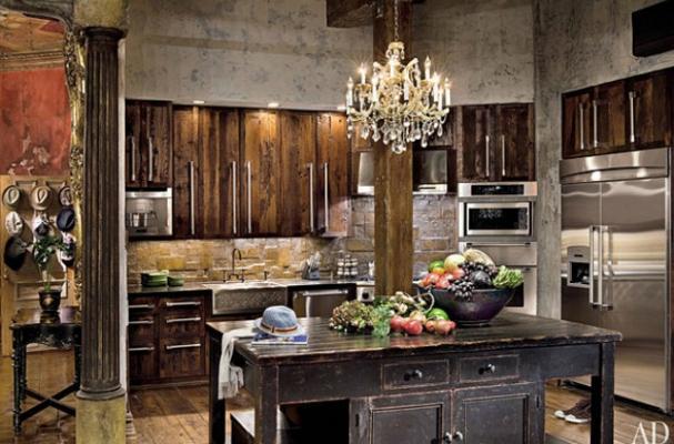 gerard butler kitchen
