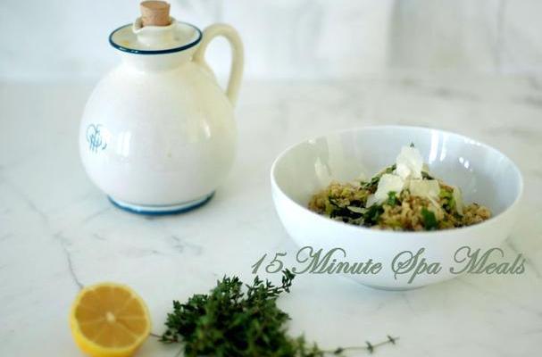 thyme quinoa salad