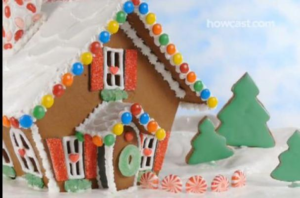 Foodista | How To Make A Gingerbread House