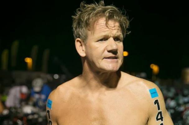 Gordon Ramsay Lost 30 Pounds for Triathlon