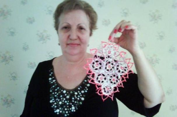 Used Chewing Gum Doily