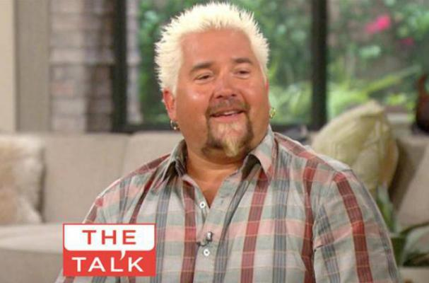 Guy Fieri Doesn't Like Wearing Gloves in the Kitchen