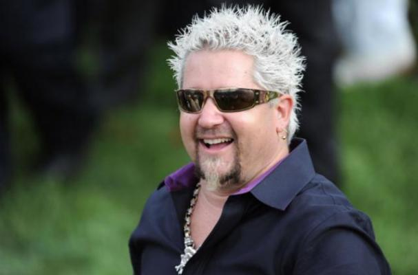 Guy Fieri Opening Wine Tasting at his Sonoma Vineyard