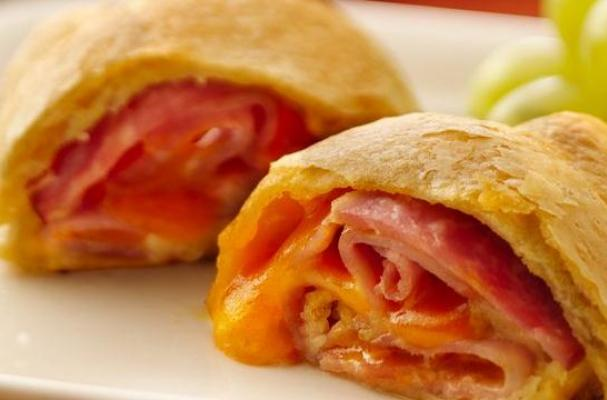 Lovely Leftovers: Ham and Cheese Roll-Ups