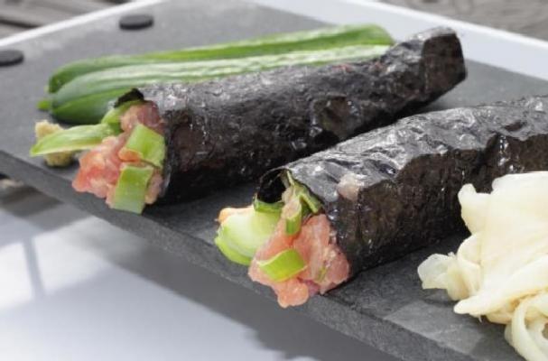 DIY Spicy Tuna Hand Roll