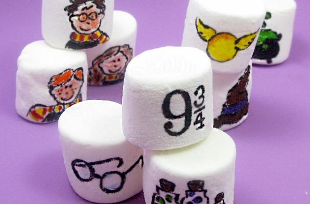 Harry Potter Painted Marshmallows