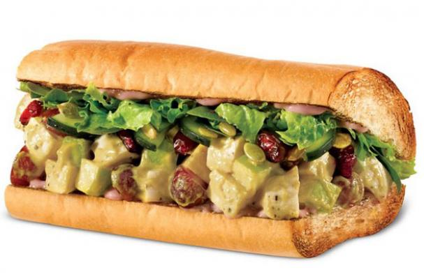 quiznos harvest chicken sandwich