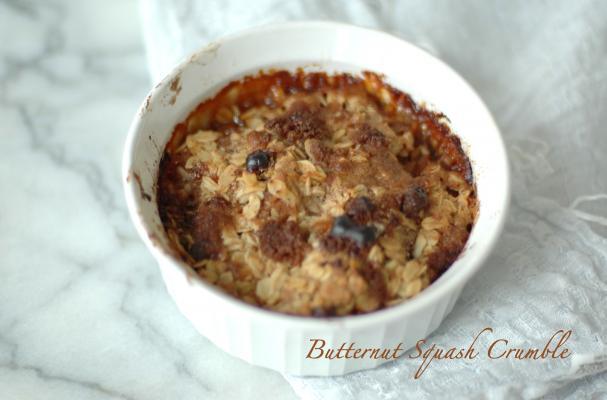 Healthy Desserts: Butternut Squash Crumble