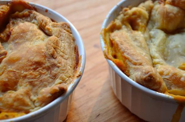 healthy vegetable pot pie recipe
