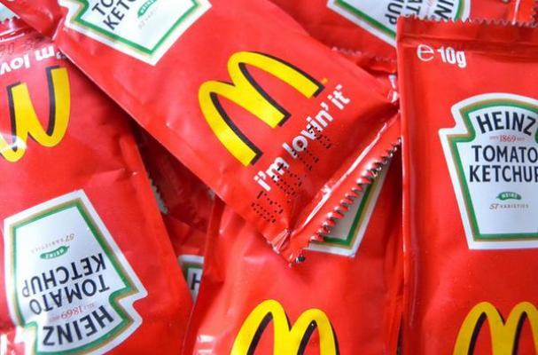 McDonald's Heinz ketchup