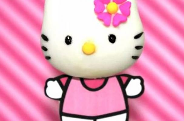 Foodista | Purrfectly Adorable Hello Kitty Cake Pops