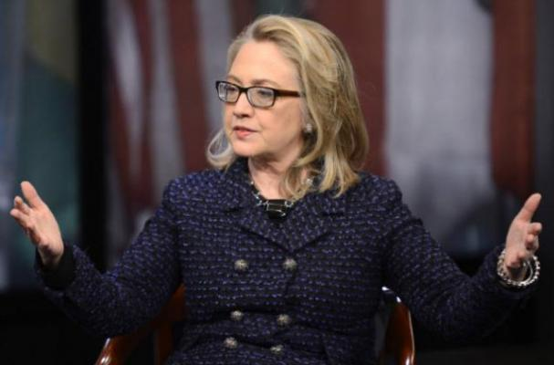 Hillary Clinton Eats Hot Chili Peppers to Keep her Energized