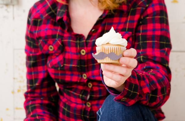 Hipster Cupcake