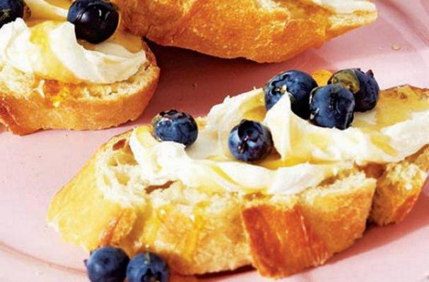Cooking With Kids: Honey Blueberry Toast