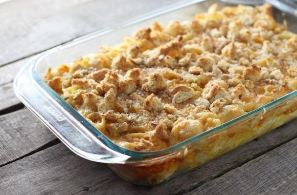 Horseradish Cheddar Macaroni and Cheese
