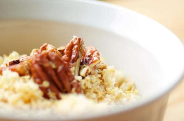 Foodista hot quinoa cereal with toasty pecans hot quinoa cereal recipe ccuart Choice Image