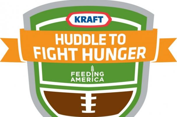 Celebrity Chefs and Football Players Join Kraft in Hunger Relief Efforts