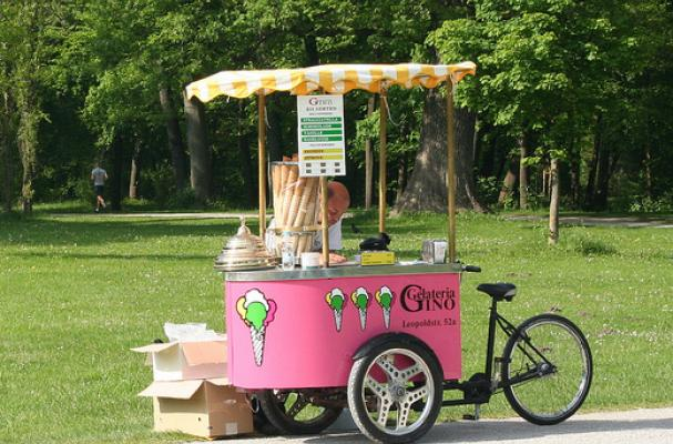 ice-cream bike
