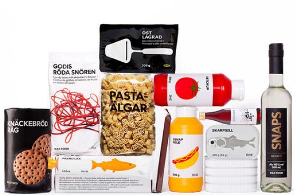 Foodista | This IKEA Food Packaging is Simple and Sleek