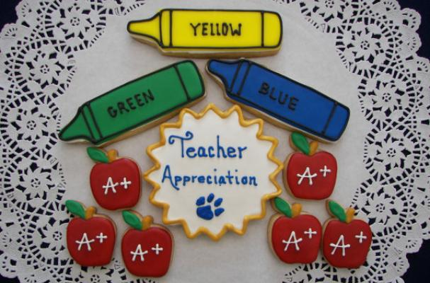 Teacher Appreciation Cookies