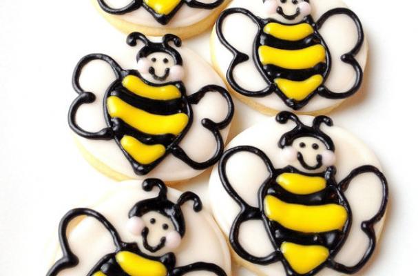 Bumblebee cookies