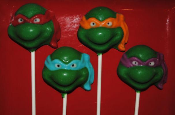Teenage Mutant Ninja Turtles Chocolate Lollipops